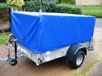 Ifor Williams P6E Mesh Sided Trailer